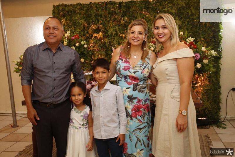 Erivaldo Xavier, Maria Lara, Joao Pedro e Isabel Travassos