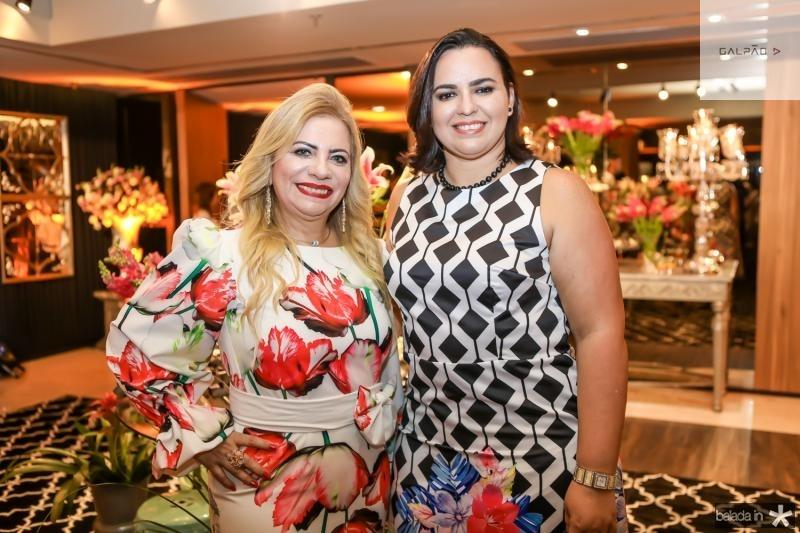 Solange Maia e Patricia Bessa