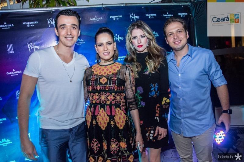 Expedito Machado, Marilia Machado, Raquel Cavalcante e Humberto Cavalcante