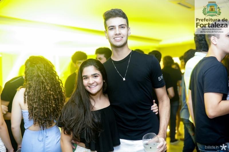Rafaela Gurgel e Eduardo Medeiros