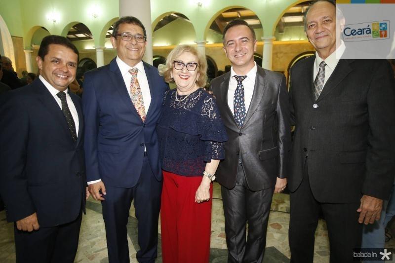 Germano Albuquerque, Ze Guedes, Socorro Franca, Flancklin Dantas e Flavio Melo