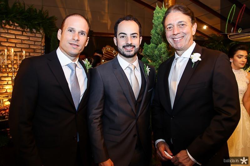 Andre Parente, Felipe e Afranio Barreira