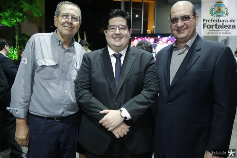 Ricardo Parente, Yuri Torquato e Walder Ary