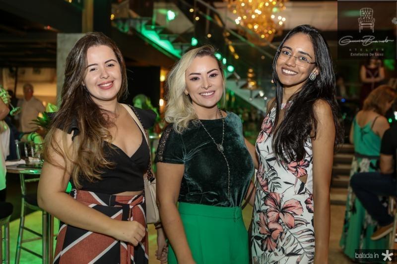 Juliete de Sa, Patricia Oliveira e Jessica Sales