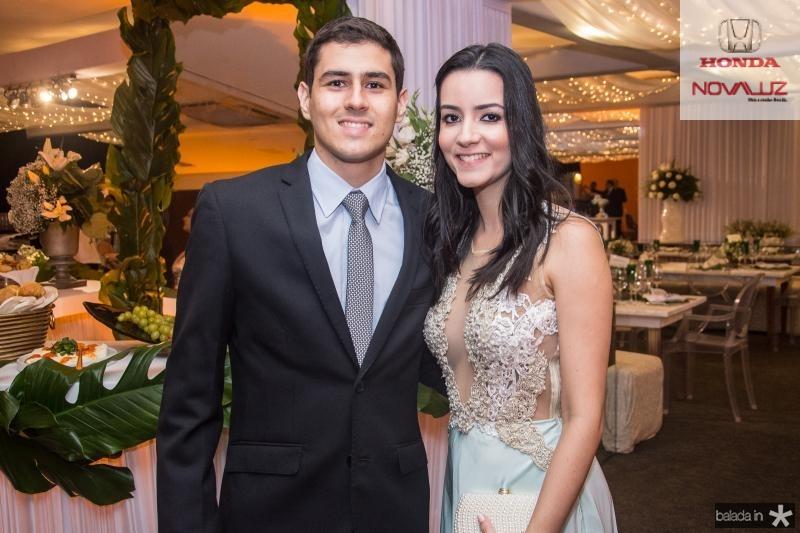 Luiz Augusto e Georgia Barreira
