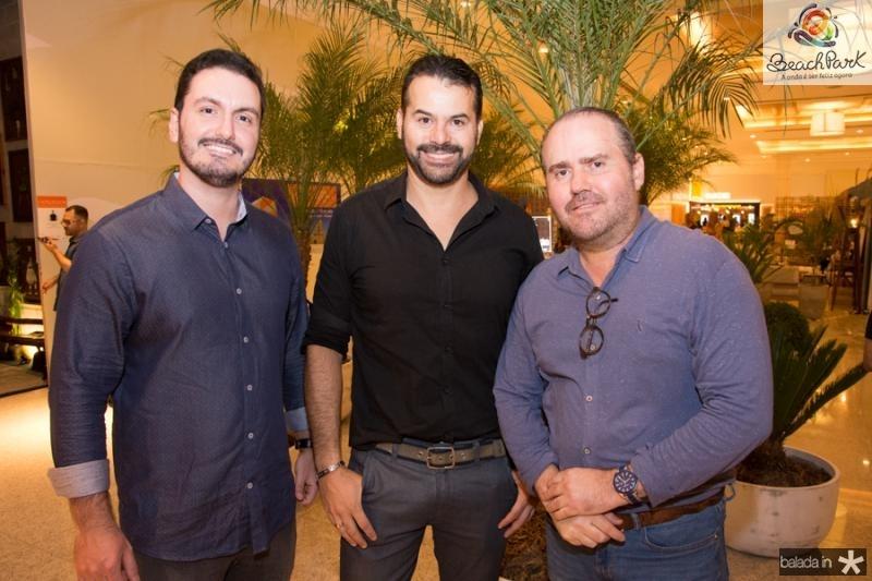 Mailson Tavora, Jerson Munayer e Roberto Pamplona