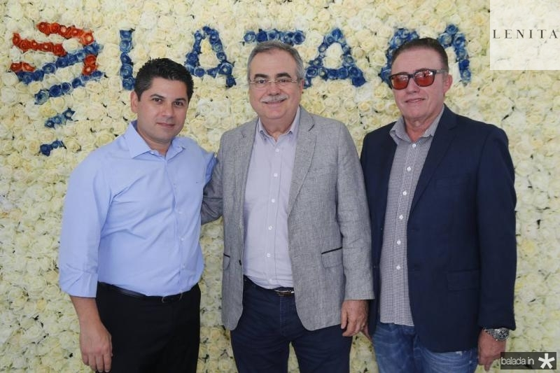 Pompeu Vasconcelos, Assis Cavalcante e Darlan Leite