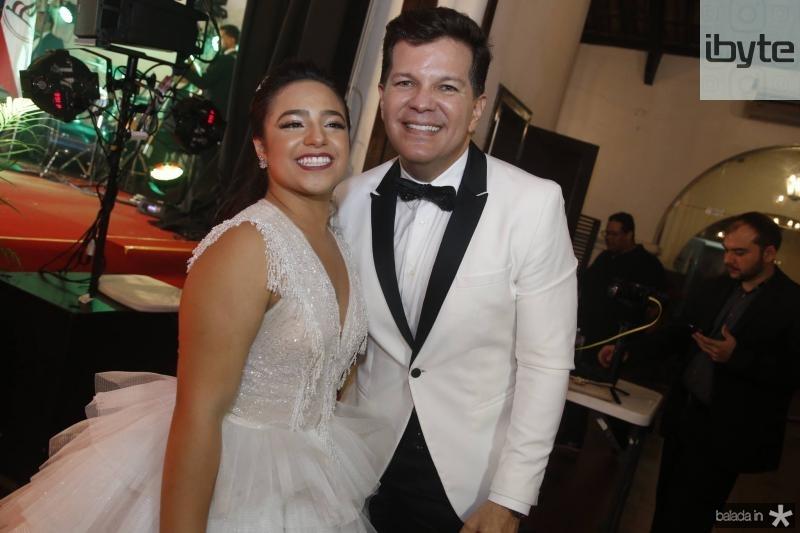 Alodinha Guimaraes e Gustavo Serpa
