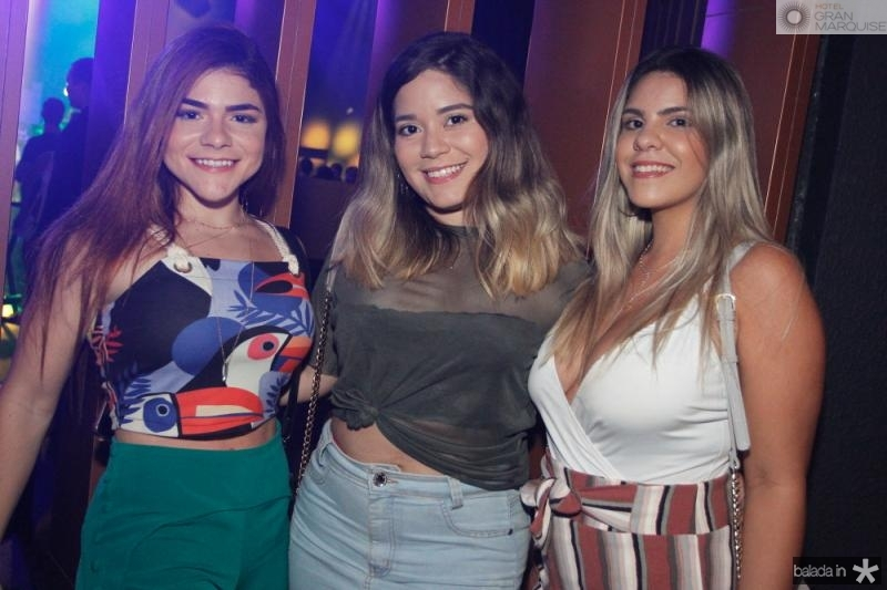 Leticia Figueiredo, Fatima Felix e Abigail de Almeida