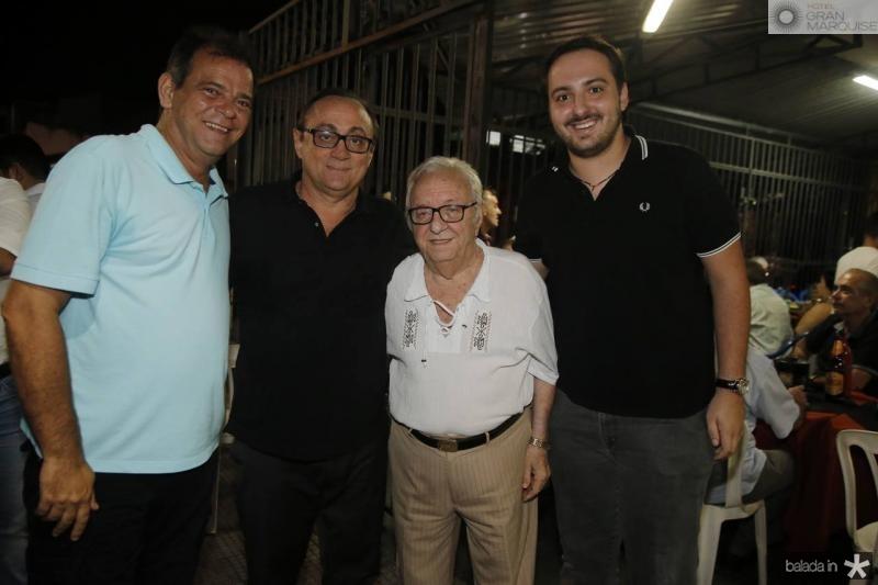 Haroldo Pedreira, Tin Gomes, Fernando Maia e Adams Gomes