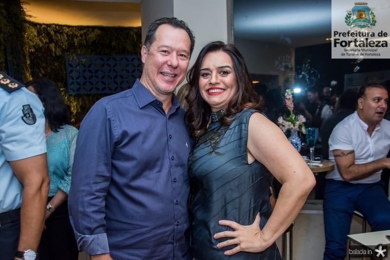 Carlos Fujita e Lia Freire