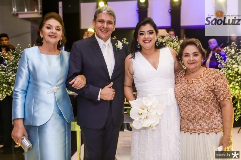 Zelia e Tobias Barreto, Vivi e Mirian Almada