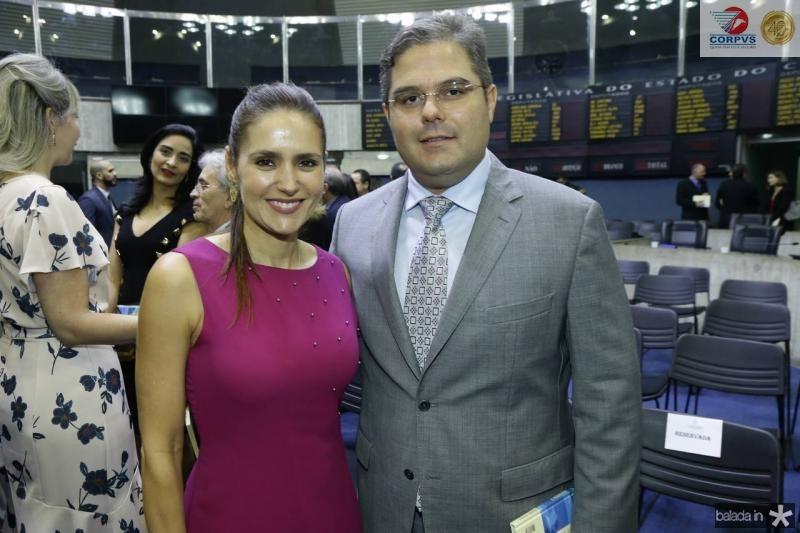 Manoela Bacelar e Edson Queiroz Neto