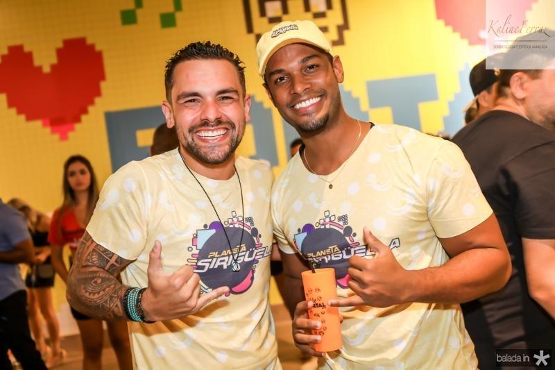 Leandro Marioto e Cristian Simedo