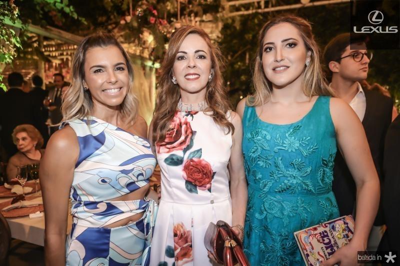 Liliana Diniz, Karisia Ribeiro e Mariel Pontes