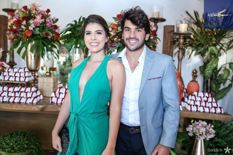 Angela Arruda e Felipe Celino