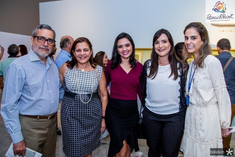 Robério e Rosa Braga, Nirian Cris, Raquel Holanda e Vanessa Oliveira
