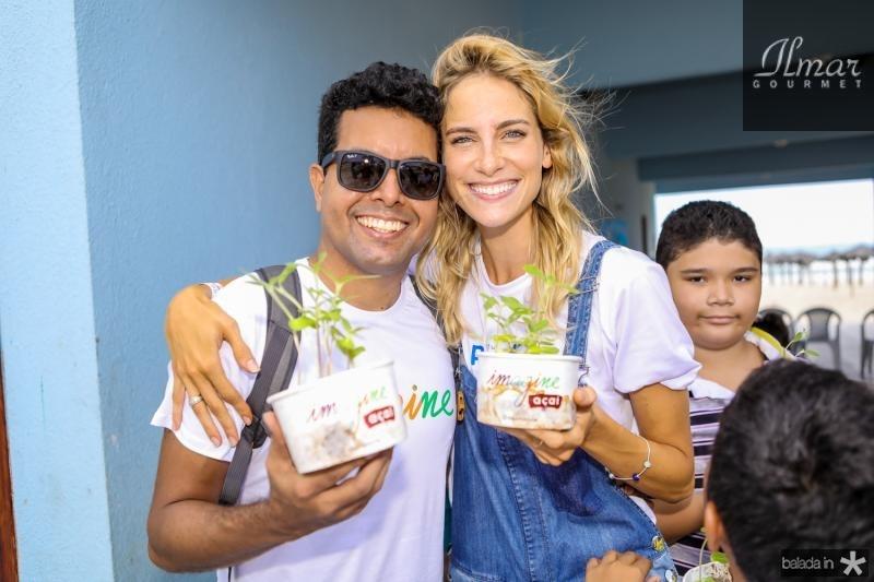 Marcia Vieira e Dani Gondim