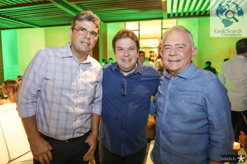 Alberto Mendonça, Chico Vale e Fernando Linhares
