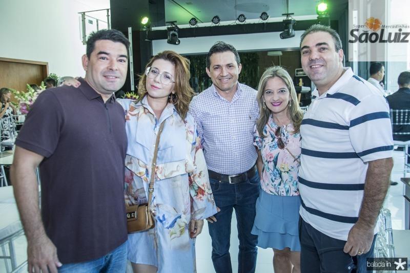 Danilo carvalho, Candida Lopes, Marcio Campos, Ivelize Benevides e Franca Sousa