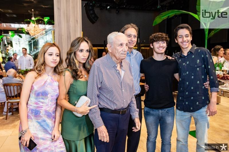 Pietra Piovesan, Alessandra Piovesan, Humberto Bezerra, Sergio Bezerra e Enzo Bezerra