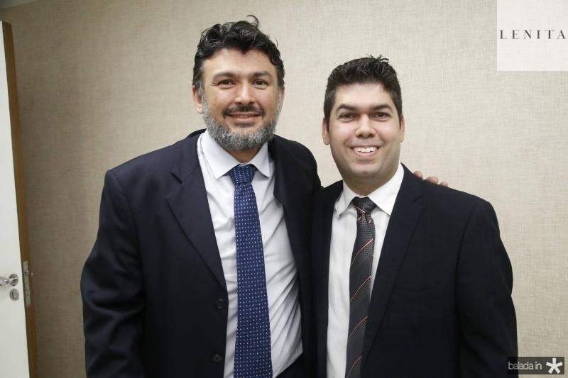 Atila Medeiros e Mauro Benevides Neto
