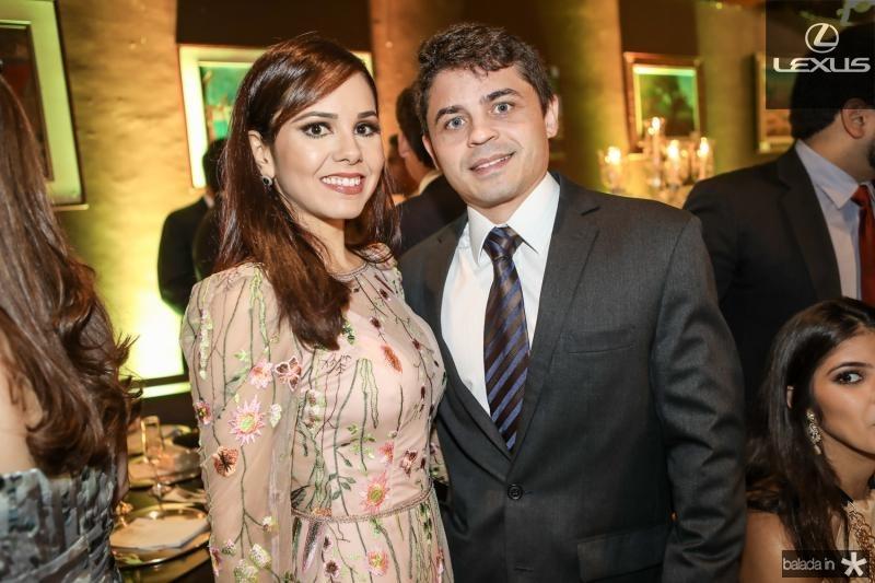 Carla Espirito Santo e Cesar Bertosi