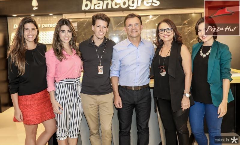 Natalia Benevides, Manoela Linhares, Junior Melo, Celso Gomes, Caratina e Zeli Ramos