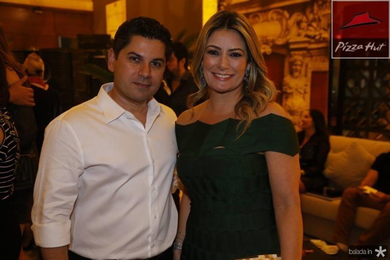Pompeu Vasconcelos e Tatiana Luna