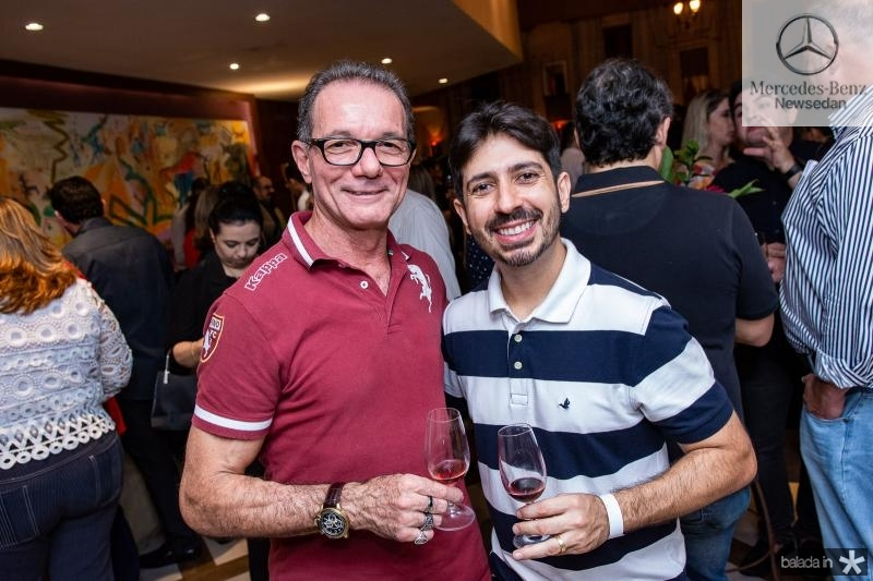 Marco Ferrari e Felipe Adjafre