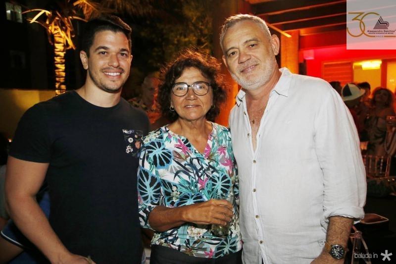 Fernando Nepomuceno, Lucia Holanda e Edson Barbosa