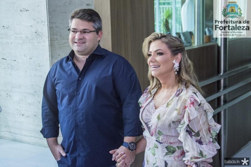 Mario e Vanessa Queiros