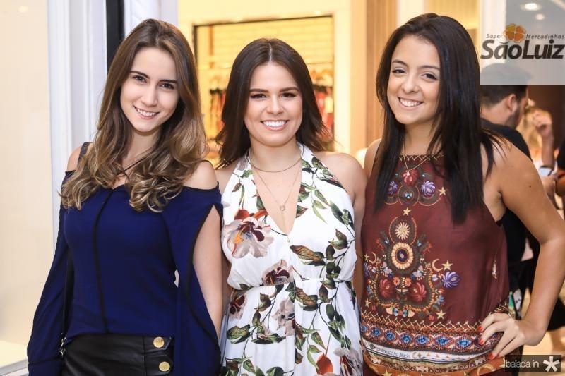 Vivian Cavalcante, Leticia Studart e Clarissa Brandao
