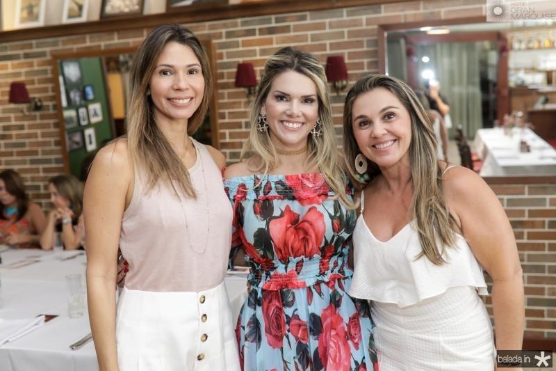 Renata Pontes, Pauliane Campos e Aninha Nobrega