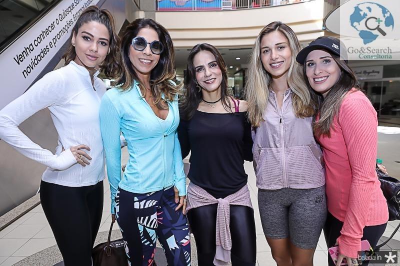 Mirele Vasconcelos, Synara Leal, Sandra Rolim, Alix Pinho e Monique Sales