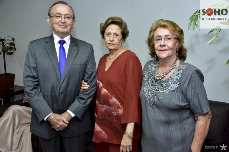 Amorim, e Maria e Lucia Franca