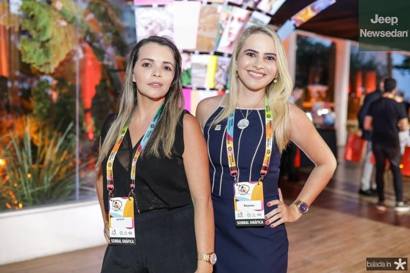 Natalia Machado e Rayana Rose