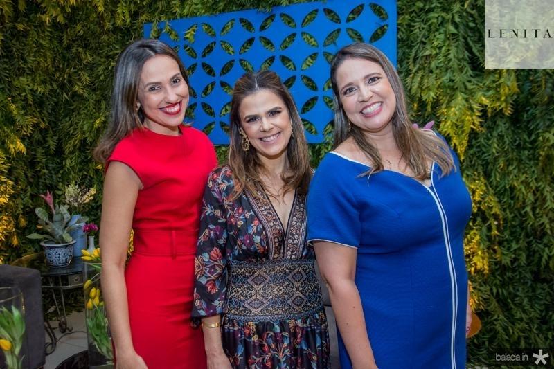 Luciana Frota, Niedja Bezerra e Luciana Colares