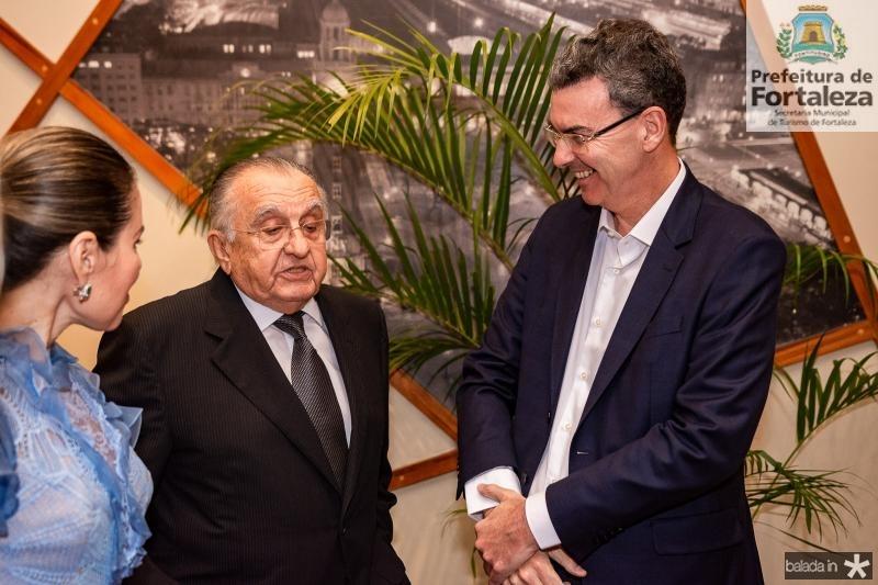 Agueda Muniz, Joao Carlos Paes Mendonca e Geraldo Luciano