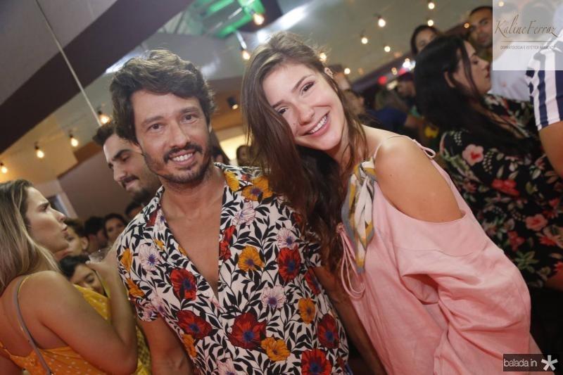 Marcelo Quindere e Carolina Stokilou