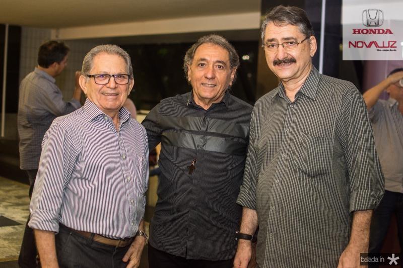 Joao Sobrinho, Rogerio Aguiar e Emidio Junior