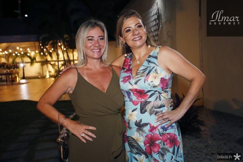 Luciana Silva e Simone Cardoso
