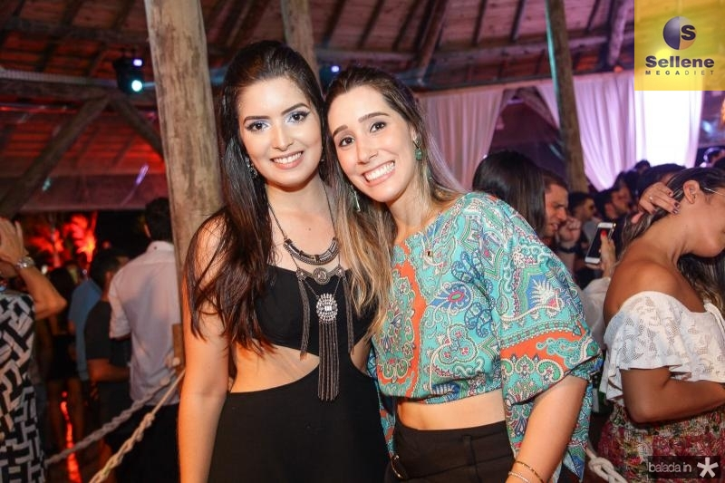 Renatha Alves e Manuela Melo