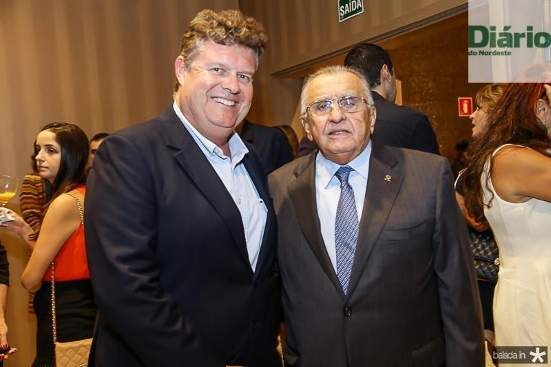 Evandro Colares e Joao Carlos Paes Mendonça