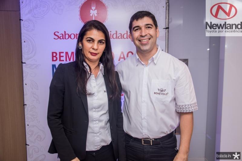 Sheila Diniz e Jeferson Deywis