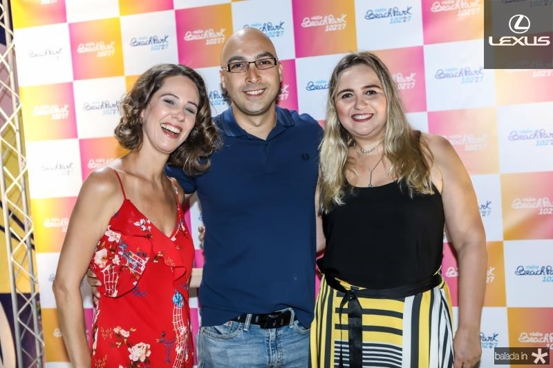 Micheline Olivindo, Denilson Marins e Eveline Pessoa