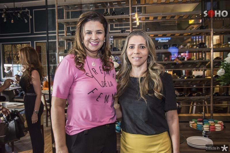 Georgia Duarte e Sellene Rolim