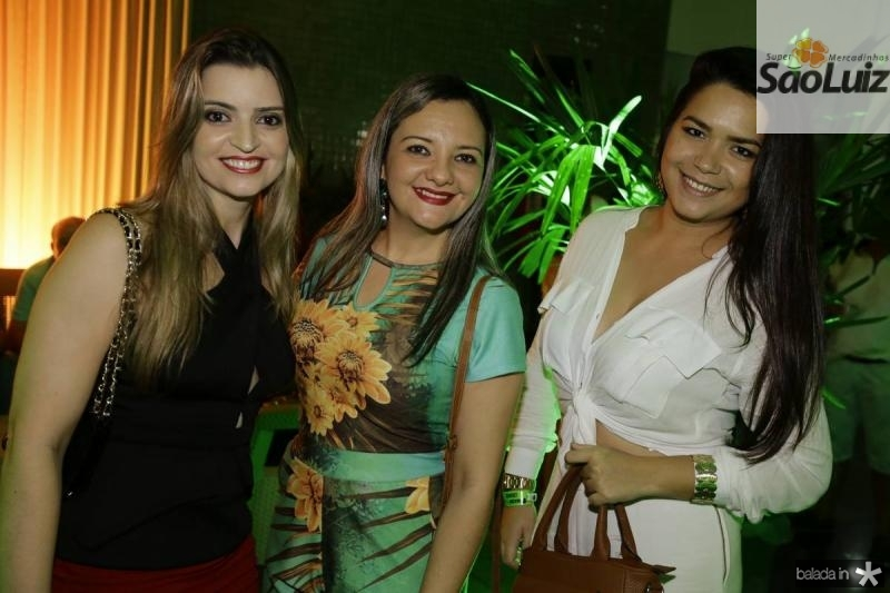 Luana Nicodemos, Ines Dolores e Stefanie Gomes