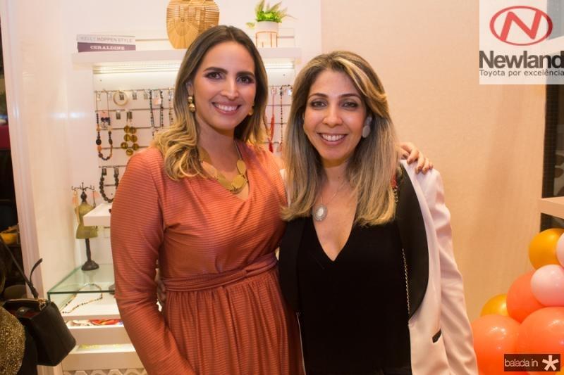 Mariana Queiroz e Alessandra Espanhol