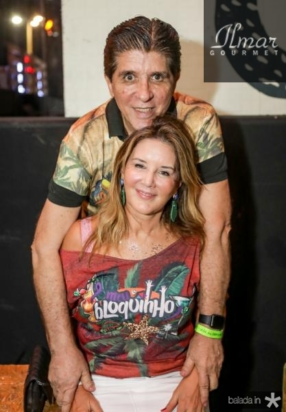 Dito Machado e Fernanda Mattosso